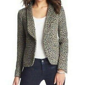 Loft Leopard Print Blazer